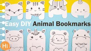 DIY Kawaii BOOKMARKS (Super Easy & Cute!)