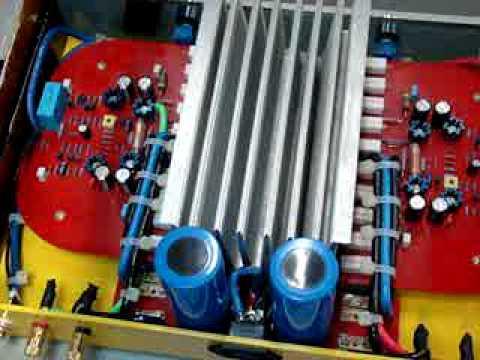 My handmade power amplifier project 1000W