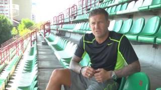Андрей Воронин [футбол] о любимом футбольном клубе