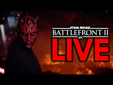 THE SITH WILL RULE THE GALAXY! Star Wars Battlefront 2 Live Stream #42