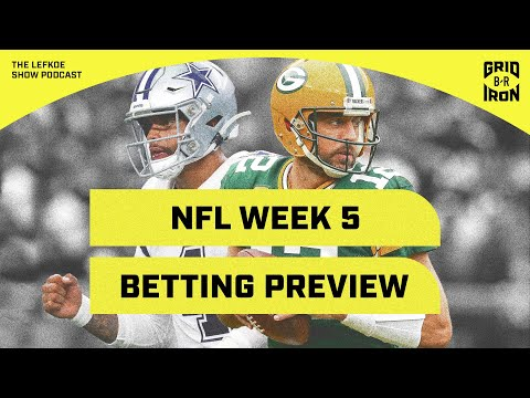 Picking Every Week 5 NFL Game Against The Spread With Warren Sharp | The Lefkoe Show