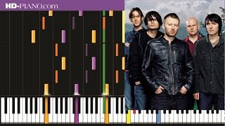 How to play Radiohead 15 step   Piano tutotial  100% speed