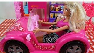 Rodzinka Barbie, zakupy w supermarkecie Bajka po polsku
