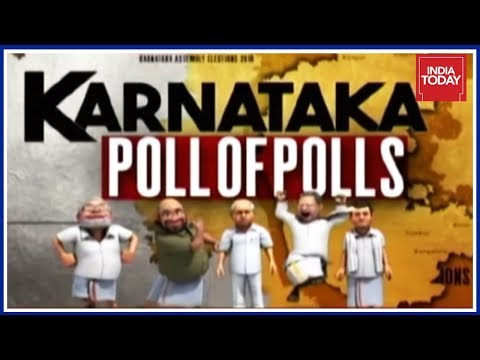 Karnataka Poll Of Polls : Hung assembly Predicted, JDS To Be Kingmaker  India Today Exclusive