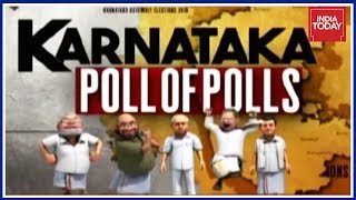 Karnataka Poll Of Polls : Hung assembly Predicted, JDS To Be Kingmaker | India Today Exclusive