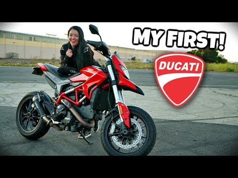 2013 Ducati Hypermotard 821 Review *FUN*