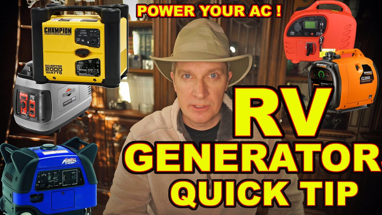 Important Tip How To Power An Rv Air Conditioner With A Generator Circuit Likewise Generac Guardian Standby Besides Youtube Premium