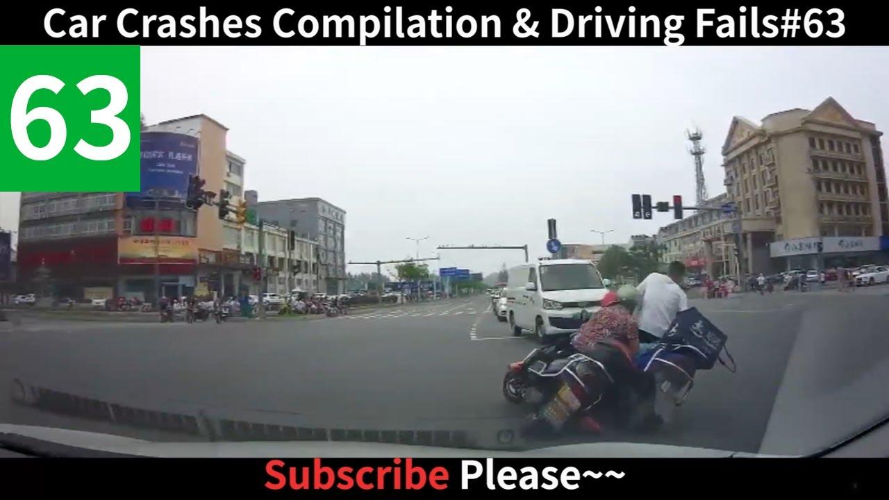 Download 彩R丨Fenny Car Crashes Compilation & Driving Fails # 63 (奇葩搞笑车祸集锦)