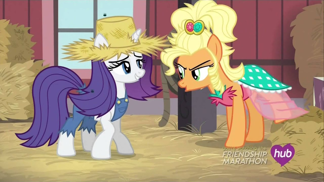 Rarity and Applejewel face off - Simple Ways - YouTube