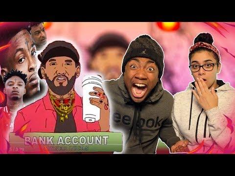 Joyner Lucas - Bank Account (Remix) | DISS 21 SAVAGE ??!! 😱🔥 | GIRLFRIEND REACTION VIDEO 💓