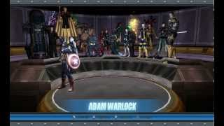 Modificando Marvel Ultimate Alliance PC - Usando o Characterselect