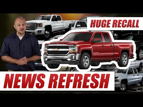 Airbag Software Glitch: 4.3 Million Chevy Silverados, GMC Sierras and More Recalled