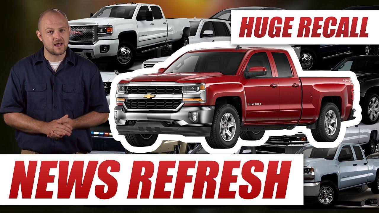 Airbag Software Glitch: 4 3 Million Chevy Silverados, GMC Sierras and More  Recalled