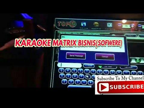 Cara menggunakan karaoke Matrix (CLient atau Room)