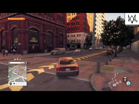 WATCH_DOGS® 2 Approach the CFO and download the CFO data