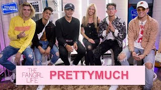 PRETTYMUCH: Fan Q&A and Find Out Who's The Messiest!