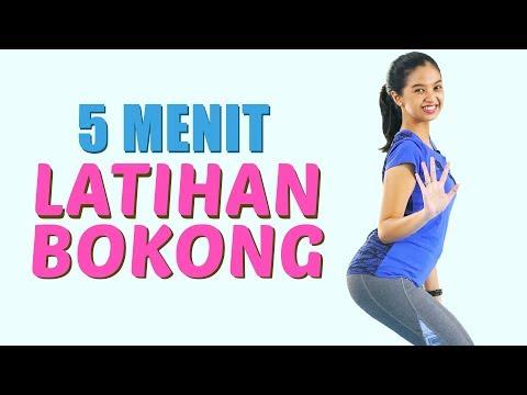 Cara Mengencangkan Bokong & Mengecilkan Paha Hanya 5 Menit Latihan ! Butt Workout