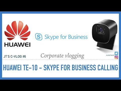 Huawei TE-10, Microsoft Office 365 Skype For Business Calling With StarLeafs UC OpenCloud