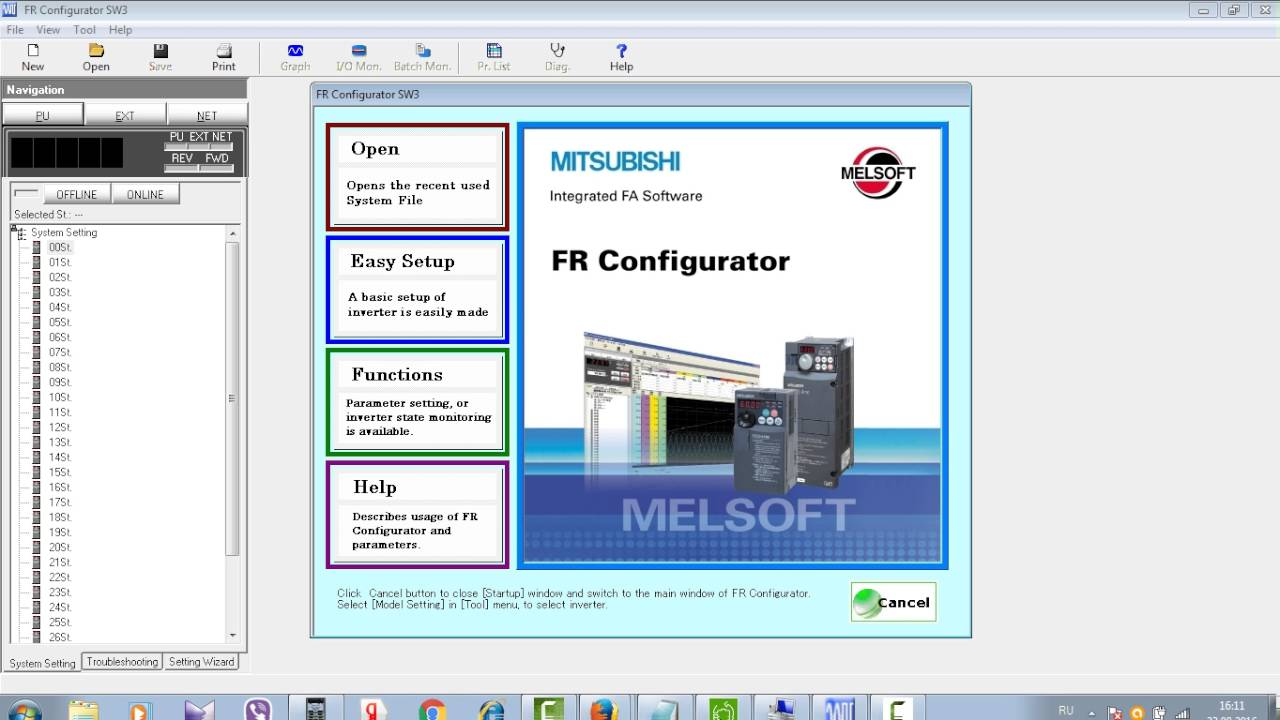 mitsubishi fr configurator software download
