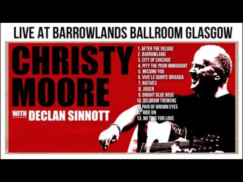 CHRISTYMOORE WITH DECLAN SINNOTT.. AT BARROWLAND GLASGOW 2008.