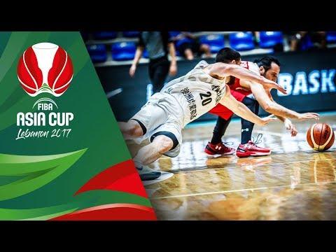 Highlights from New Zealand v Jordan in Slow Motion - Quarter-Final - FIBA Asia Cup 2017