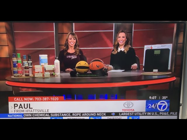 """Part 2/2 """"Increase Metabolism & Lose Weight This Week!"""" Sports Talk, NewsCh8 ABC DC #1"""