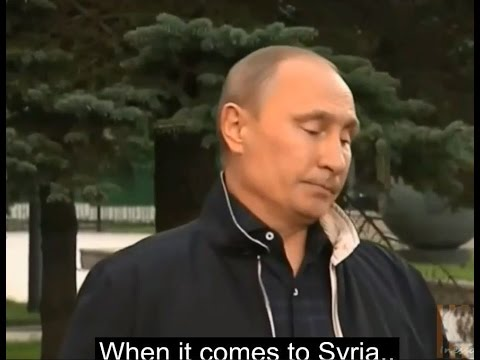 """When Assad's chemical weapons are a """"crock of shit"""""""