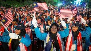 30,000 banjiri Padang Merdeka sempena Hari Malaysia