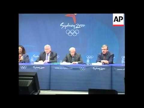AUSTRALIA: SYDNEY OLYMPICS: IOC PRESIDENT SAMARANCH
