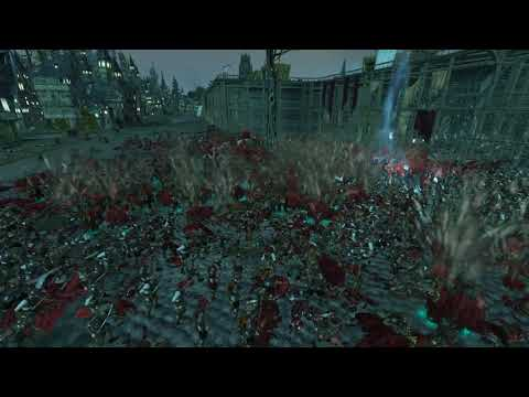 Warhammer 2 Campaign end vampire counts vs Empire with the dutch navy