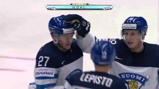 Jääkiekko MM 2015 | Suomi - Slovenia Maalikooste