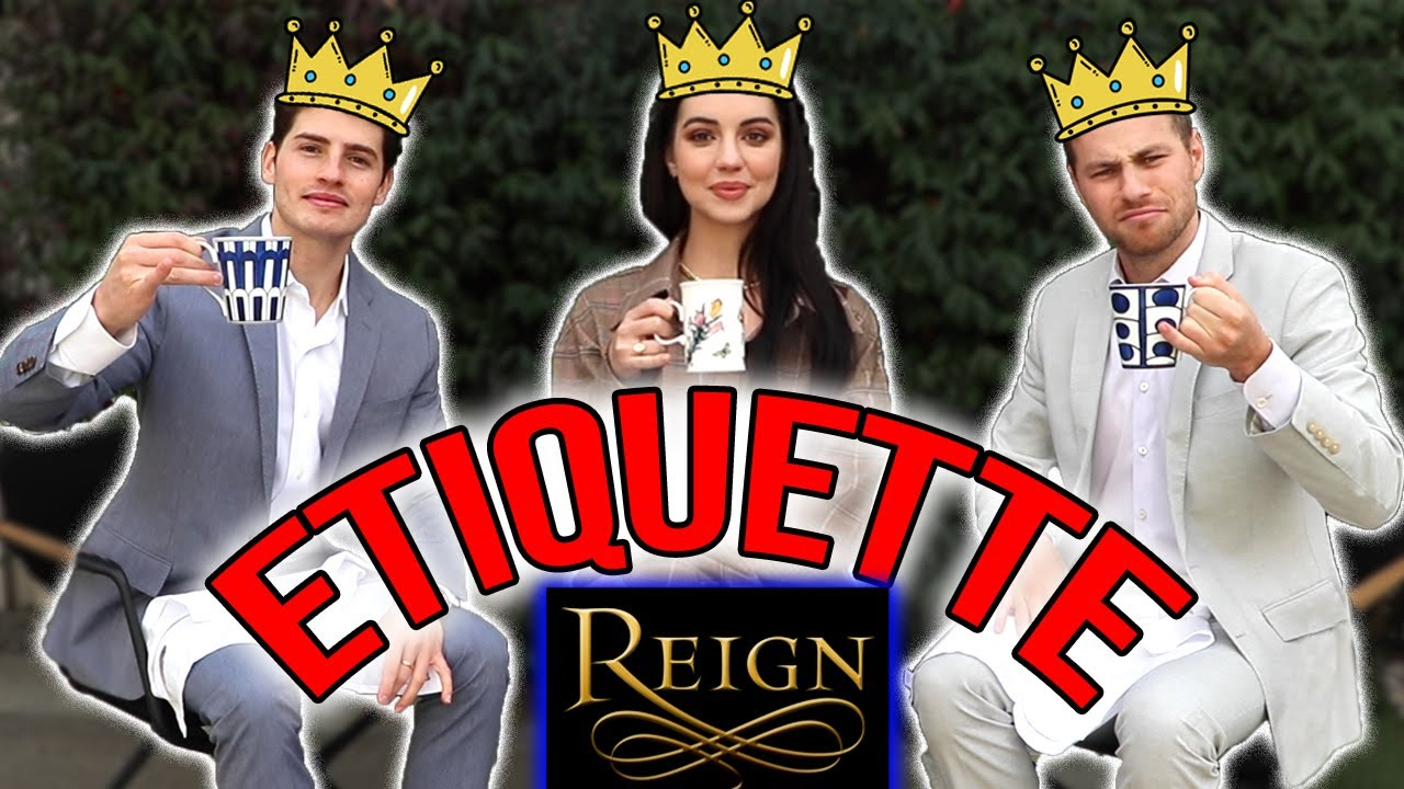 Etiquette Challenge (w. Adelaide Kane) | Gregg and Cameron
