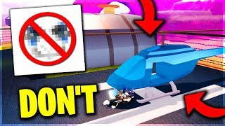 DON'T DO THIS.. IN ROBLOX JAILBREAK! (GONE WRONG)