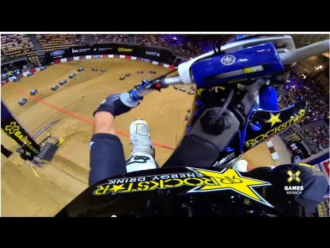 GoPro: Libor Podmol Launches to Gold - Moto X Step Up - Summer X Games 2013 Munich