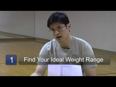 How to Find Out How Much Weight I Need to Lose