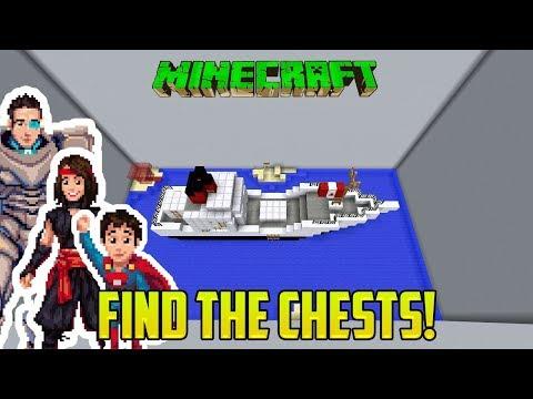 Minecraft: CHEST FINDER! FIND THE BUTTON MINI-GAME/MOD
