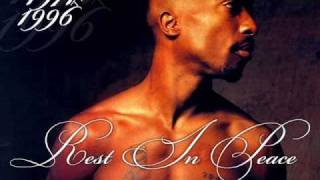 Tupac Untouchable (Ghost Remix) (feat. Krazie Bone) with lyrics