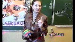 Урок  английского языка в 9 классе