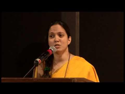 The HR Club 'Woman Game Changer Award' presented to Brni. Nidhi Chaitanya