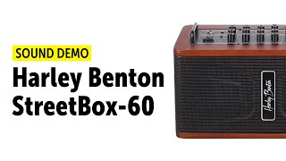 Harley Benton StreetBox-60 - Sound Demo (no talking)