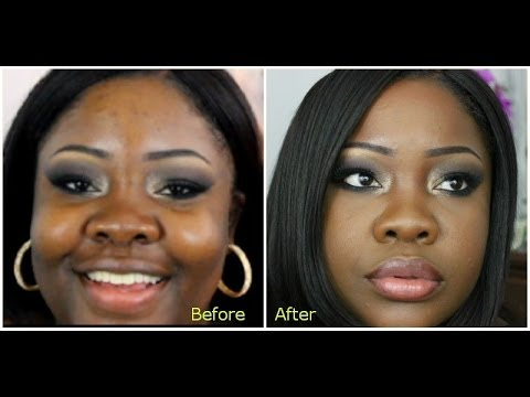 "Makeup For Black Skin ""Black Up Cosmetics"" - YouTube"