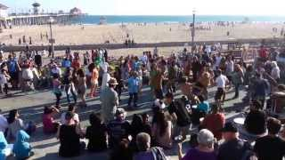 Drum Circle - Huntington Beach, CA
