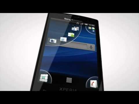 Sony Ericsson XPERIA Mini video ad