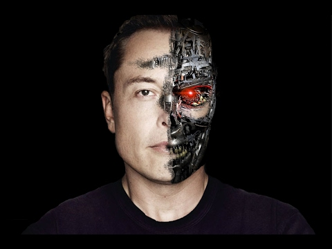 "Elon Musk  – ""merge with machines"" 