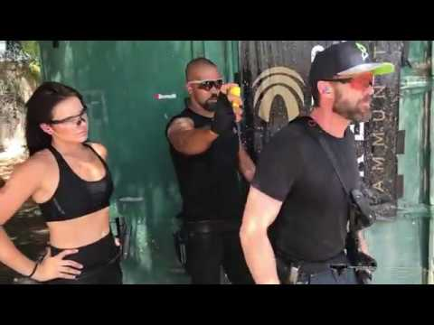 Garret Dillahunt 3 Gun Training with Shemar Moore and Taran Butler
