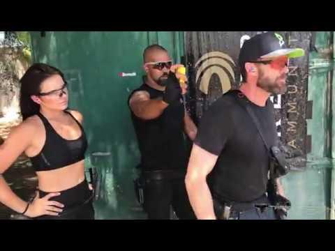 Garret Dillahunt 3 Gun Training with Shemar Moore and Taran Butler