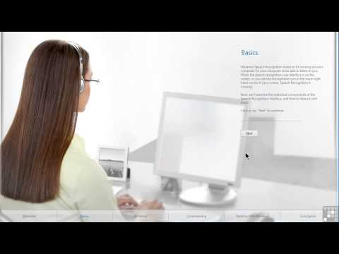 Microsoft Windows 8 Tutorial | Enabling And Training Speech Recognition