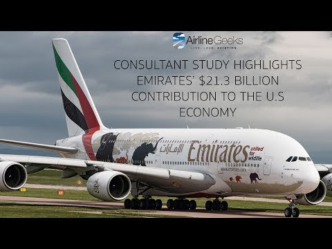 Consultant Study Highlights Emirates' $21.3 Billion Contribution to US Economy