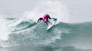 Malia Manuel Surfing Oceanside, California