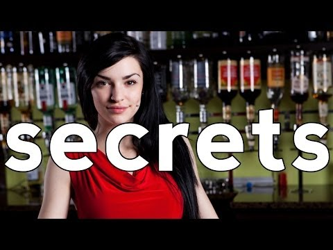 14 Bartenders' Secret Confessions
